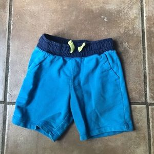 Cat and jack size 4T blue shorts
